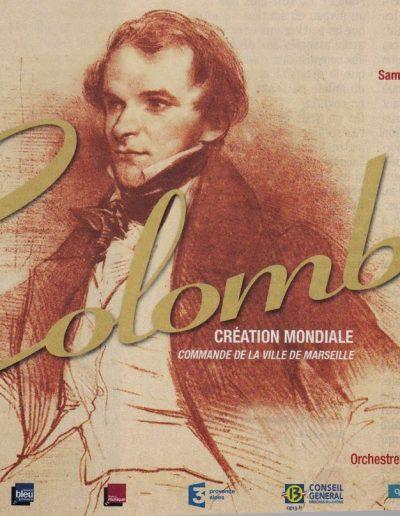 Colomba, de Jean-Claude Petit à l'Opéra de Marseille
