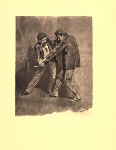 Illustrations de Gaston Vuillier apparaissant dans l'édition de Colomba de 1897 chez Calmann Lévy